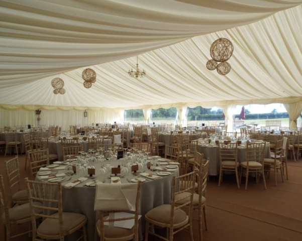 Rustic Marquee Wedding