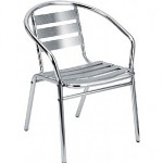 Low Chrome Chair