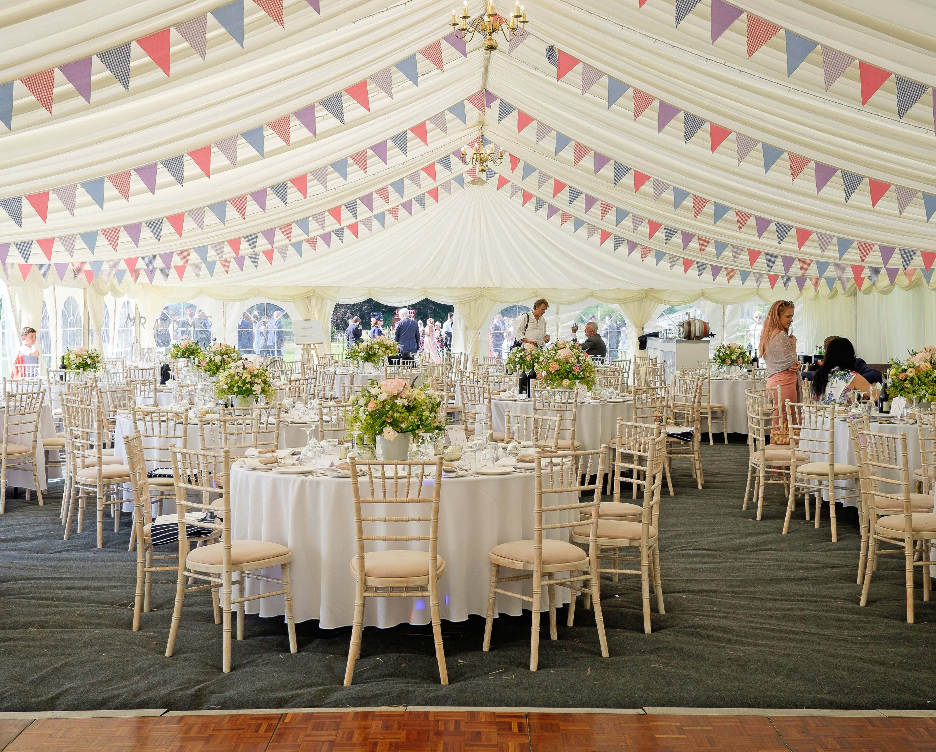 Marquee hire image